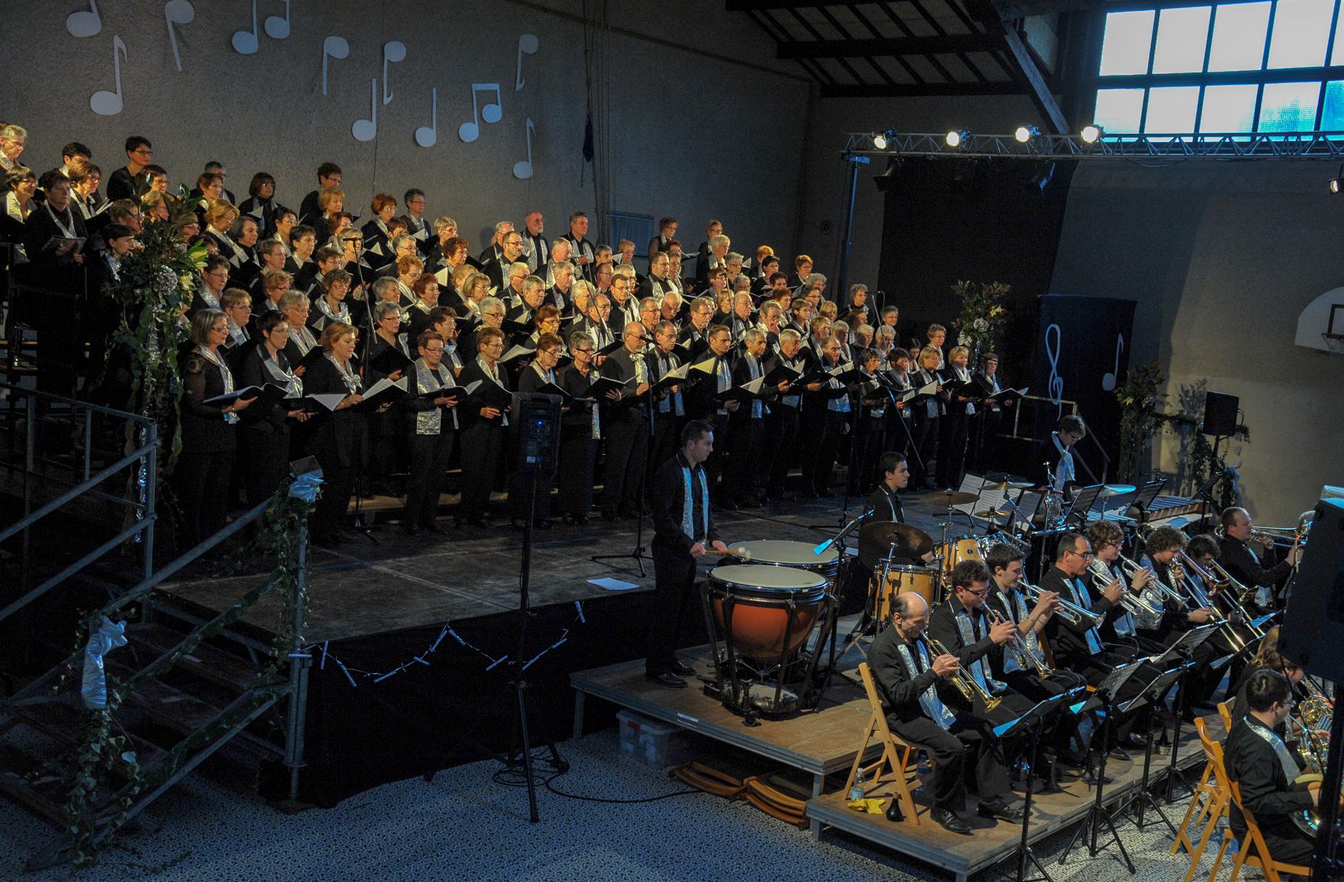 chœur de Ludna concert chorale